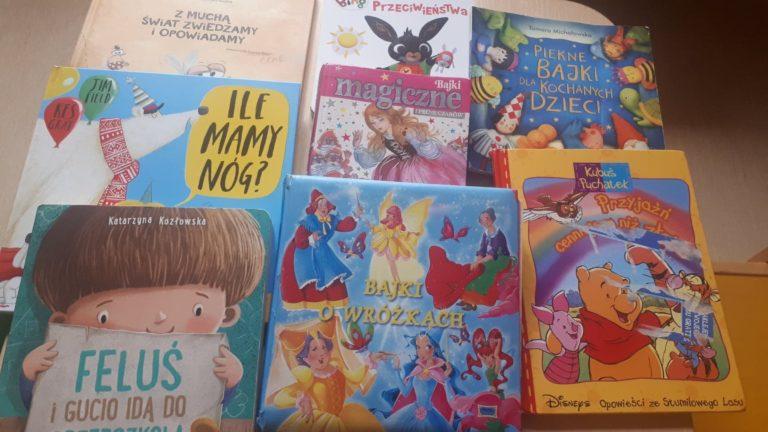 okładki książek dla dzieci